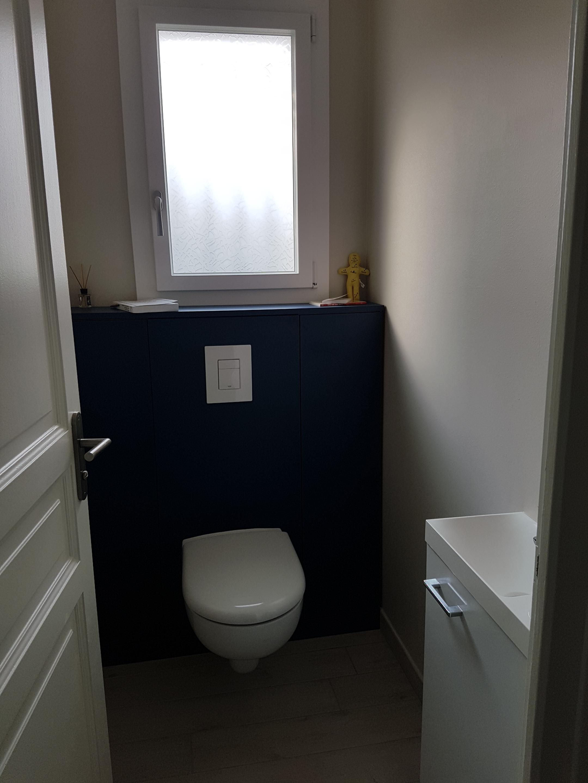 meuble pour toilettes